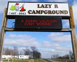 Just look for the Lazy R sign, and you'll have a real good time!